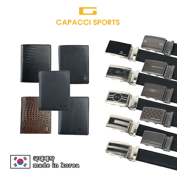 가파치스포츠 블랙몬 천연소가죽 지갑 5종중 선택CPSB-A (A-01~A05)