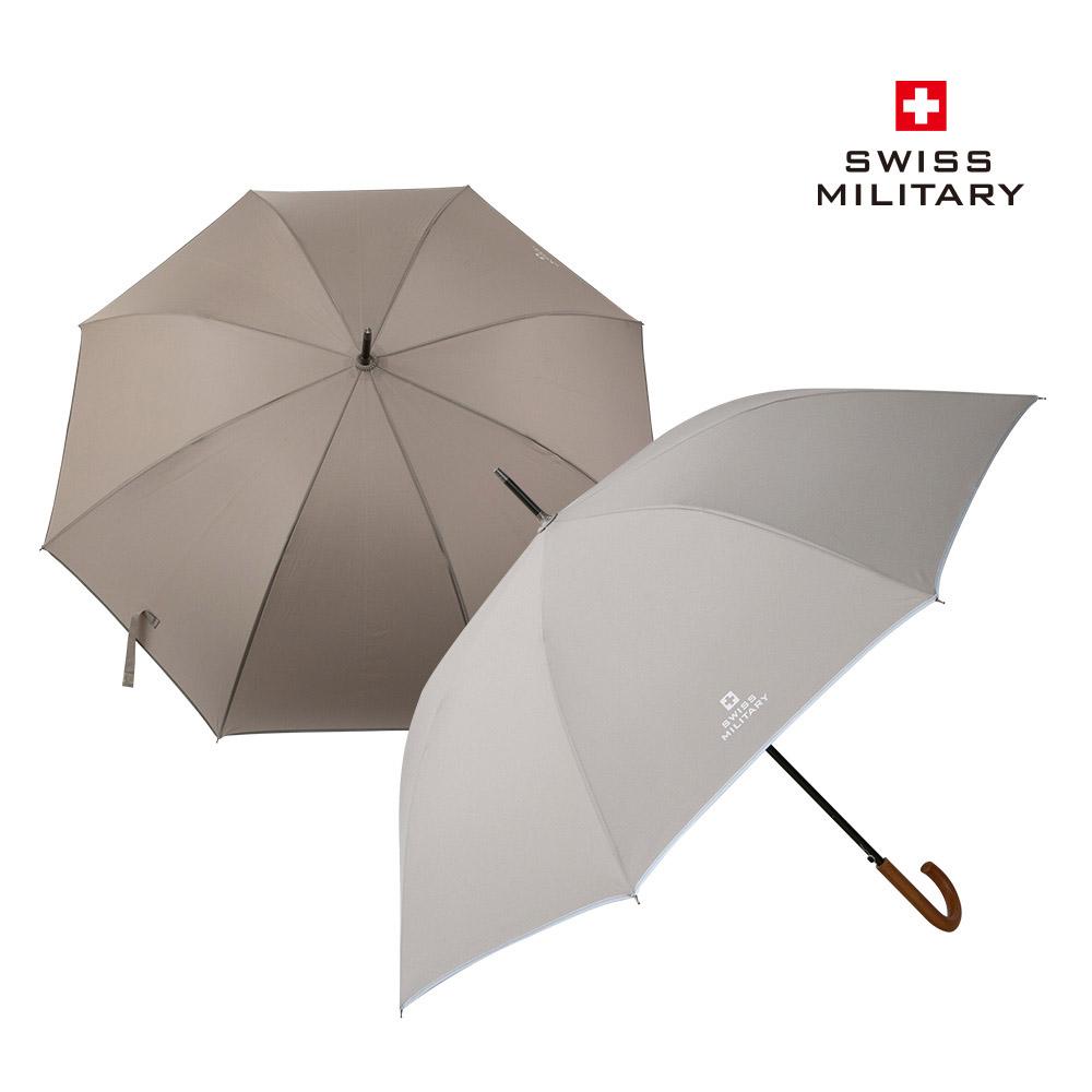 [스위스밀리터리] 클래식 자동 장우산 /색상선택:샌드,딥그레이